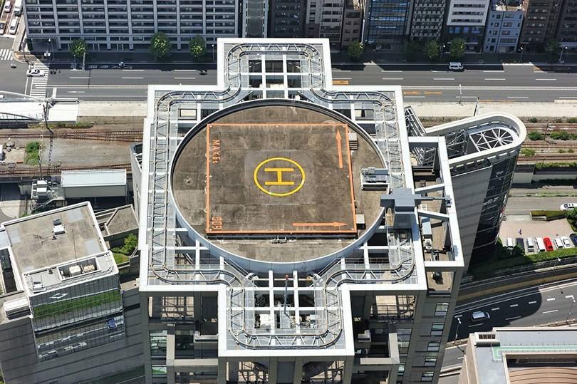 北京国贸屋顶停机坪